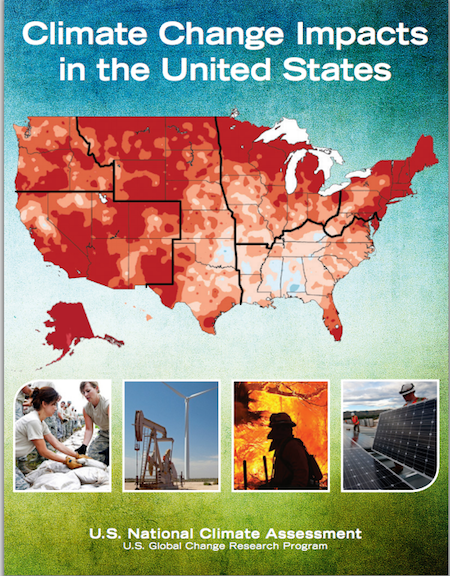 Cover of the Third National Climate Assessment