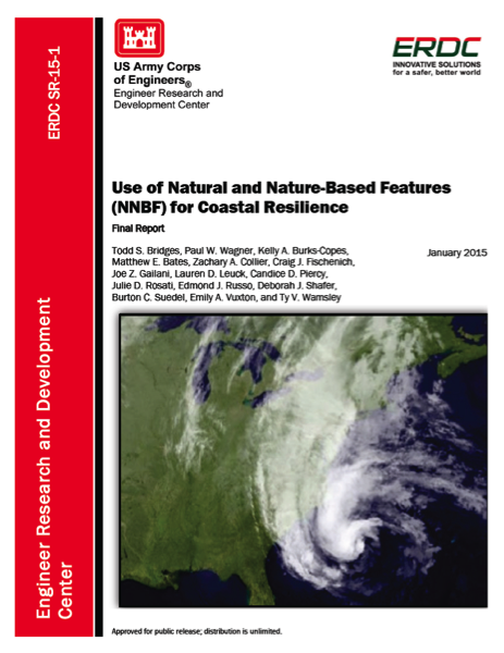 Use of Natural and Nature-Based Features for Coastal Resilience