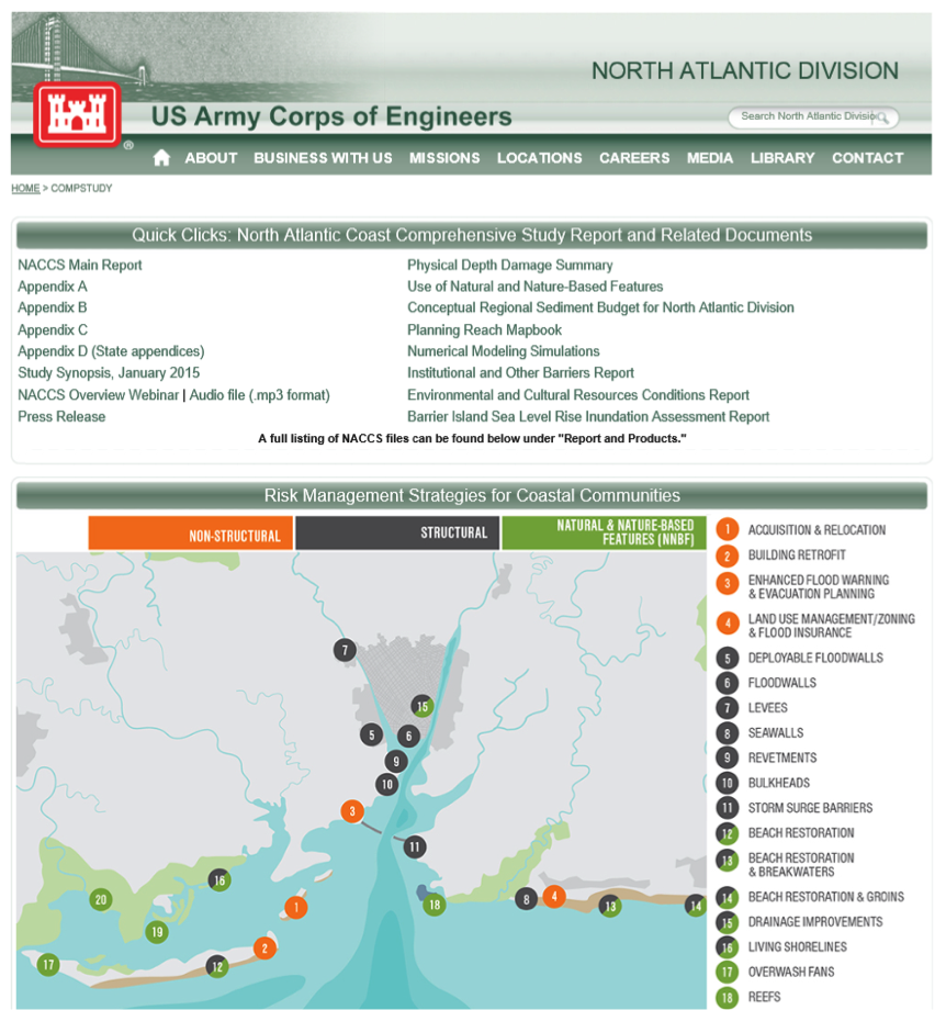 North Atlantic Coast Comprehensive Study and Related Resources