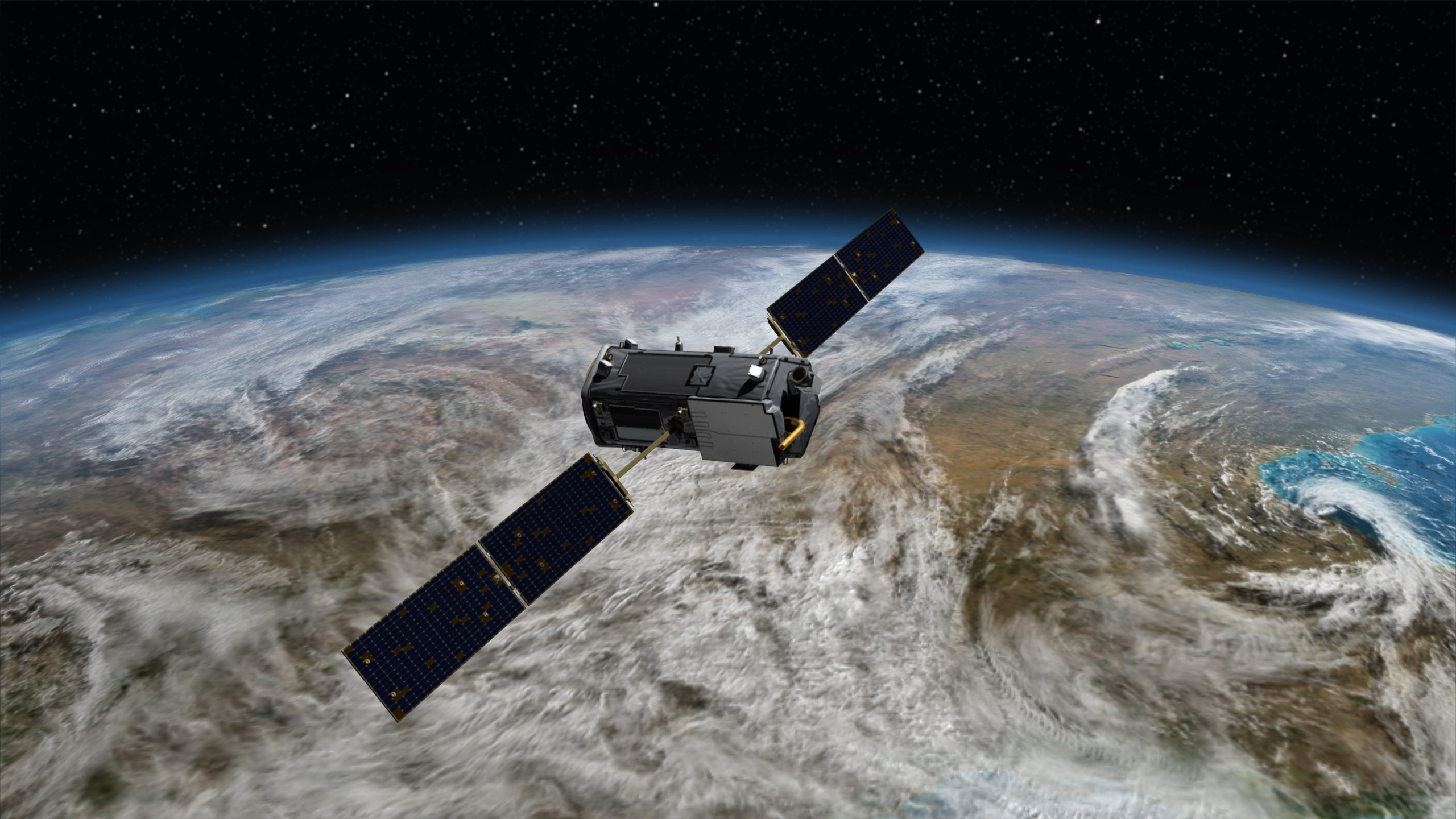 OCO-2 satellite