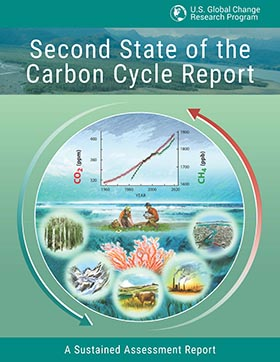 Cover of 2nd State of the Carbon Cycle Report (SOCCR2) thumb