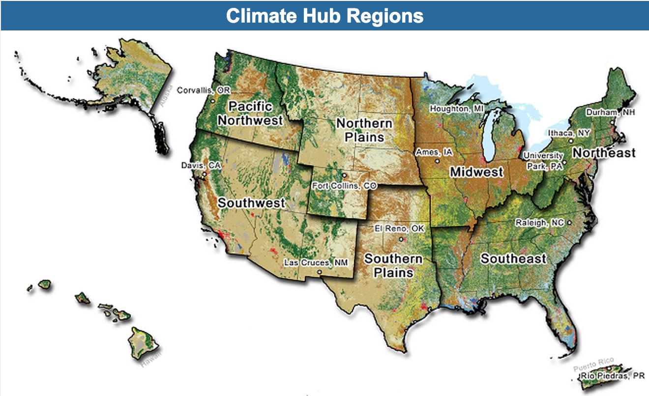 USDA Climate Hubs