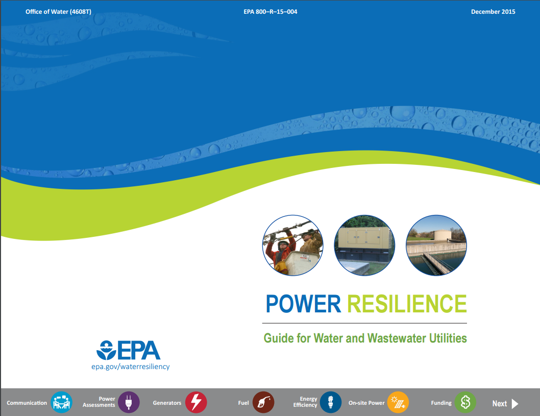 Power Resilience Guide (2015)