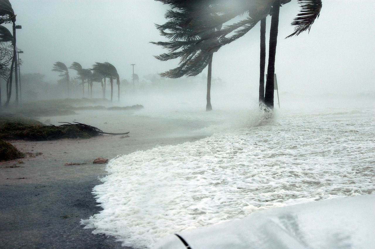 A hurricane in Key West, FL