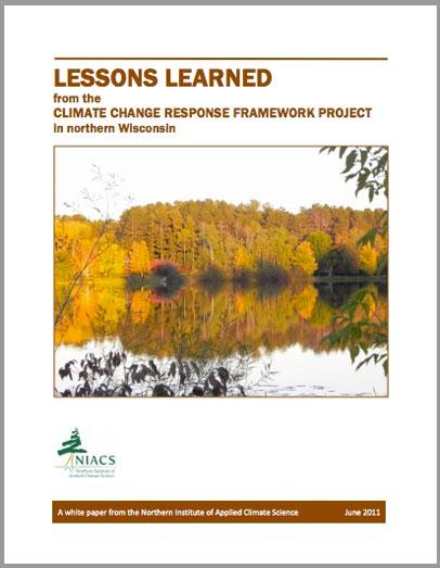 Northwoods Climate Change Response Framework Project