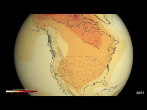 NASA | Projected U.S. Temperature Changes by 2100