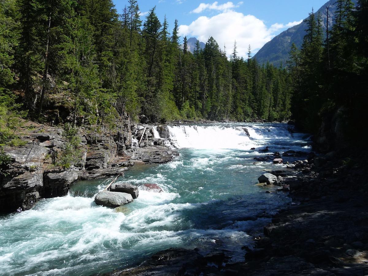 Mountain stream in Montana