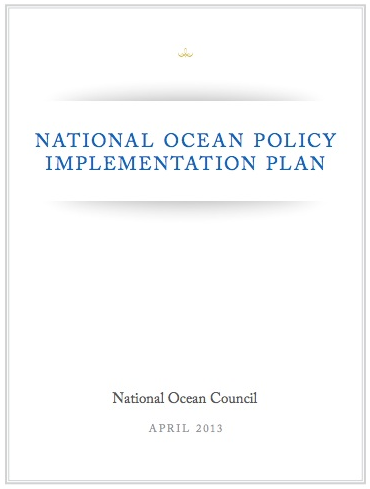 National Ocean Policy Implementation Plan