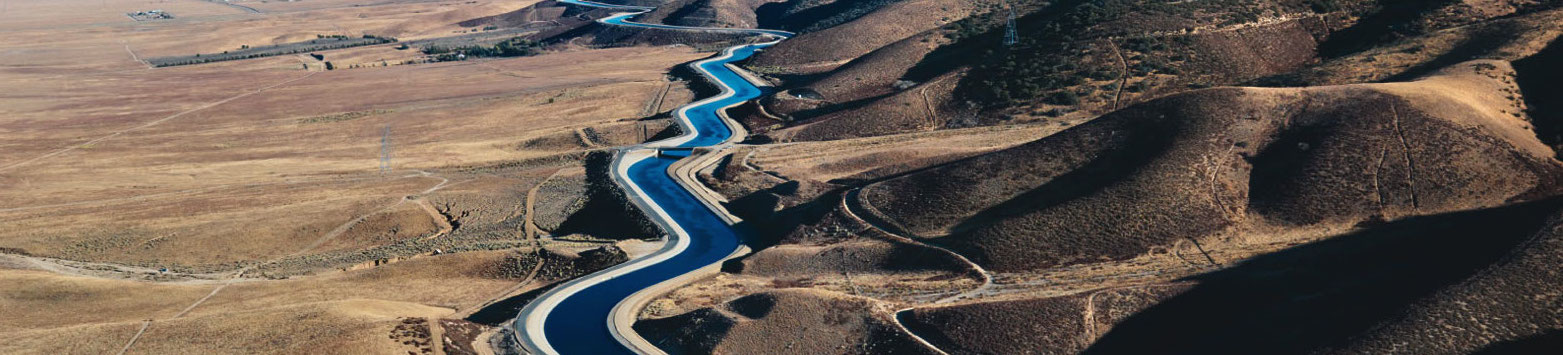 Irrigation canal in the southwest