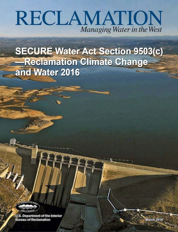 reclamation managing water in the west