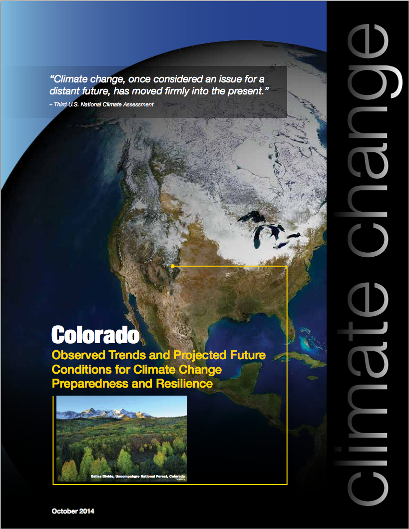 Colorado regional brochure cover
