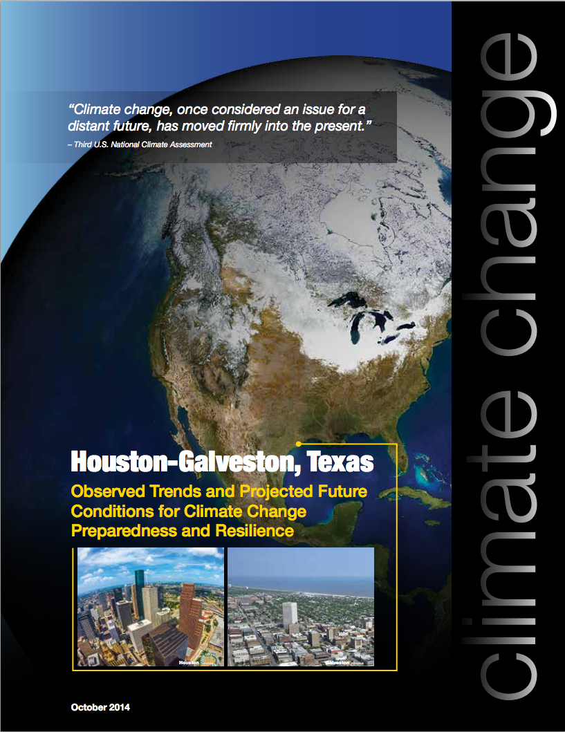 Houston regional brochure cover