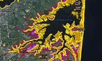 Interactive Sea-level Rise Maps