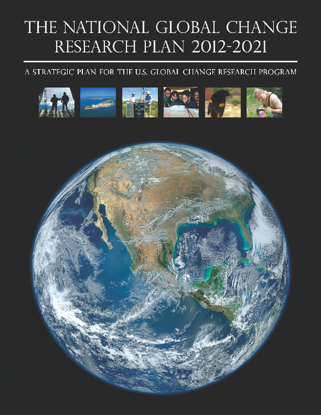 National Global Change Research Plan 2012-2021
