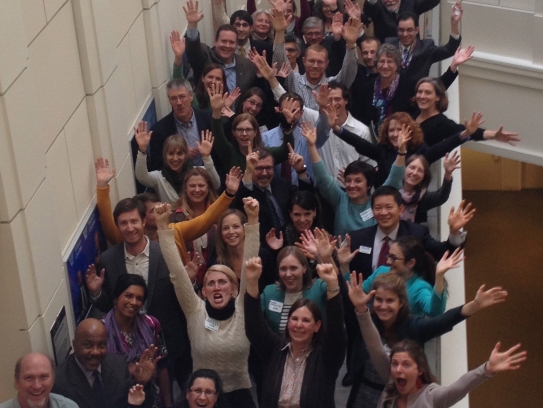 Participants at the 2014 workshop on citizen science and indicators for the National Climate Assessment
