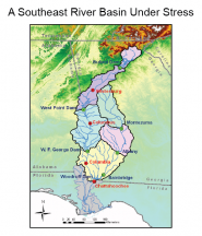 A Southeast River Basin Under Stress