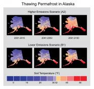Thawing Permafrost in Alaska