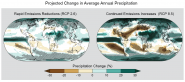 Projected Change in Average Annual Precipitation