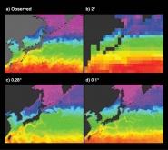 Sea Surface Temperature, Northwest Pacific Ocean
