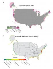 Social Vulnerability, Probability of Shoreline Erosion