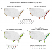 Projected Sea Level Rise and Flooding by 2050