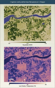 Irrigation and Land Surface Temperature in Oregon
