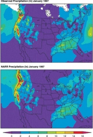 North American Regional Reanalysis (NARR) Precipitation Data