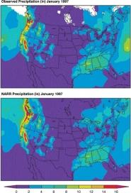 North American Regional Reanalysis (NARR) Precipitation Data
