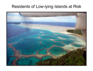 Residents of Low-lying Islands at Risk