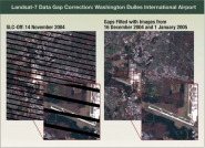 Landsat-7 Data Gap Correction: Washington Dulles International Airport