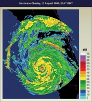 Hurricane Charley, 13 August 2004