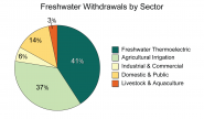 Freshwater Withdrawals by Sector