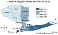 Climate Change Projected to Worsen Asthma