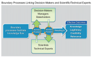 Boundary Processes Linking Decision-Makers and Scientific/Technical Experts