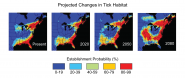 Projected Changes in Tick Habitat