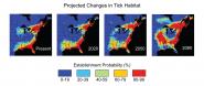 Projected Changes in Tick Habitat