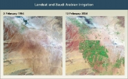 Landsat and Saudi Arabian Irrigation