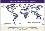 1997-2001 Mean Annual Fire Emissions