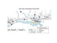 Gulf Coast Transportation Hubs at Risk