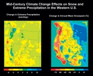 Climate Change Effects on Snowpack and Extreme Precipitation