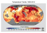 Temperature Trends, 1900-2012