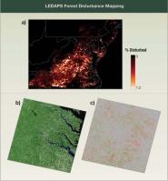 LEDAPS Forest Disturbance Mapping
