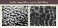 Satellite Images of Closed- and Open-Celled Clouds