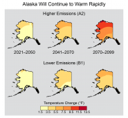 Alaska Will Continue to Warm Rapidly