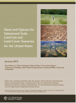 Cover of Workshop Report: Need and Options for Subnational Scale Land-Use and Land-Cover Scenarios for the United States