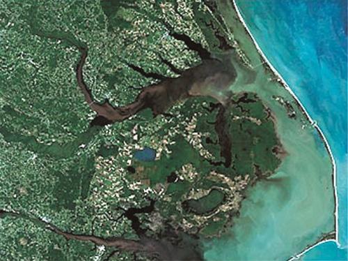 North Carolina Coast after Hurricane Floyd