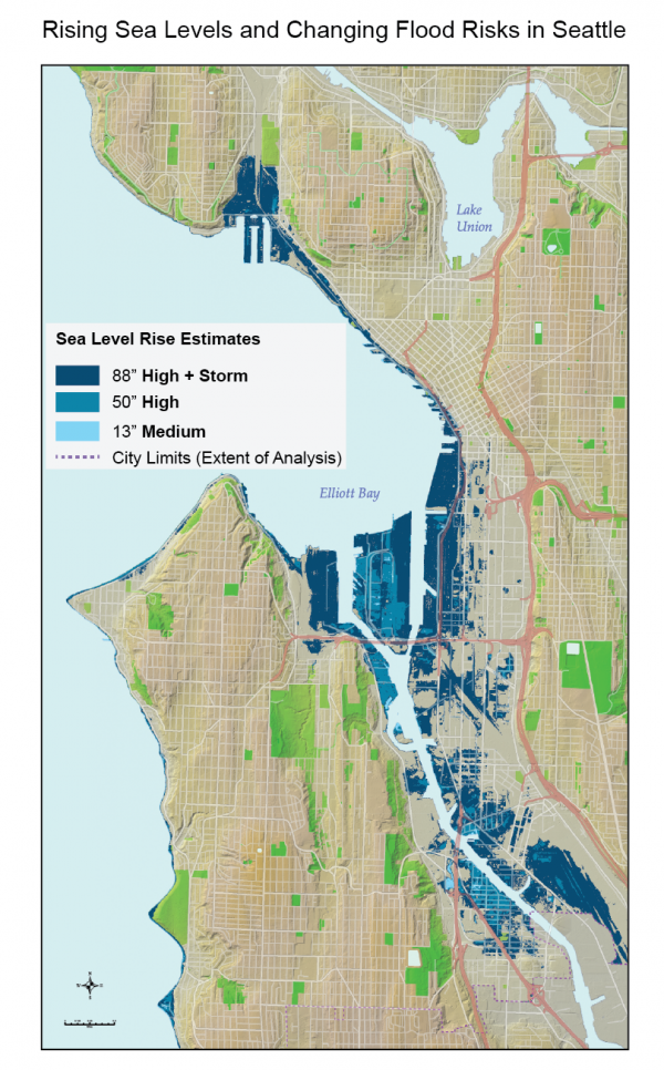 Rising Sea Levels and Changing Flood Risks in Seattle