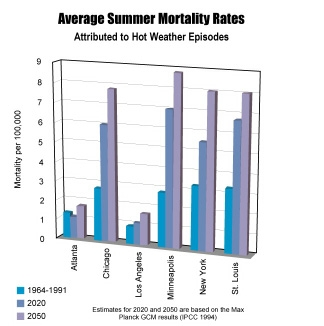 Average Summer Mortality Rates