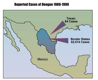 Reported Cases of Dengue 1980-1999
