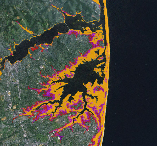 Sea Level Rise Map Services for Sandy Recovery
